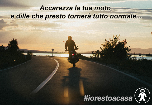 #iorestoacasa - Motoabbigliamento.it