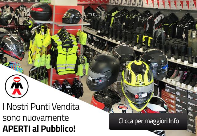 Riapertura Negozi - Motoabbigliamento.it