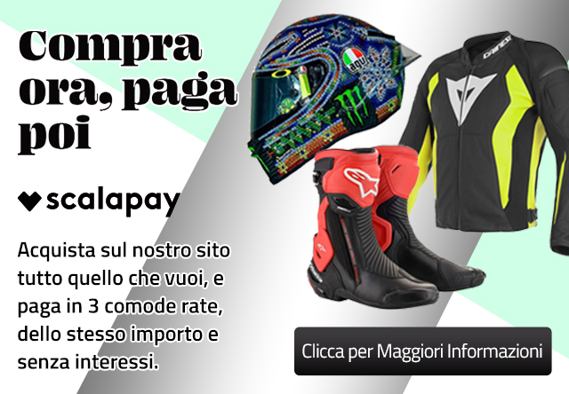 Scalapay - Motoabbigliamento.it