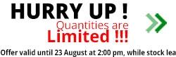 Promo - motoabbigliamento August