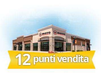 12 punti vendita Motoabbigliamento.it