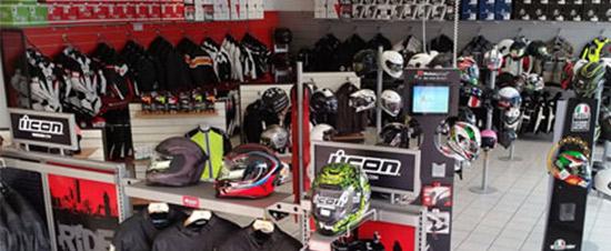 negozio Motoabbigliamento Milano