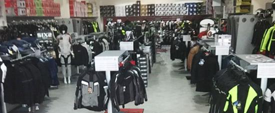 negozio Motoabbigliamento Varese