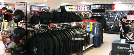 negozio Motoabbigliamento Modena