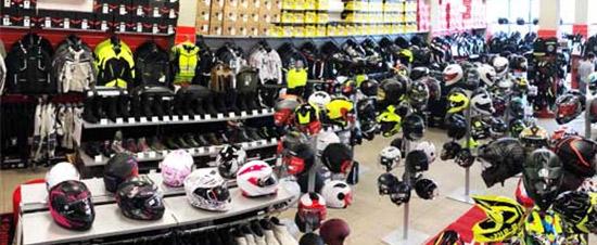 negozio Motoabbigliamento Pisa