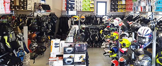 negozio Motoabbigliamento Prato