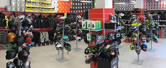 negozio Motoabbigliamento Roma