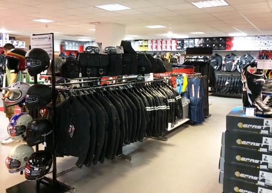 motoabbigliamento negozio vicino bologna