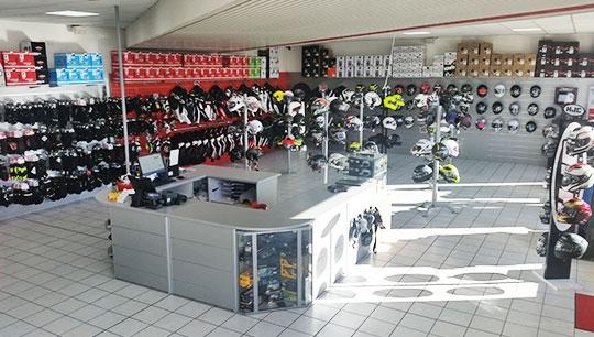 motoabbigliamento negozio vicino Pavia