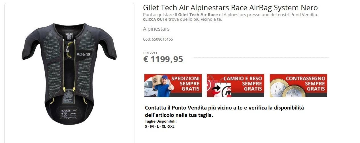Tech Air Race Alpinestars