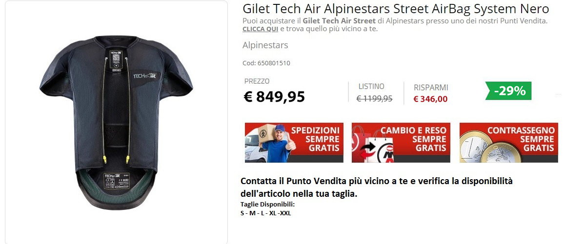 Tech Air Street Alpinestars