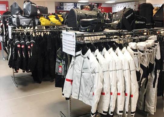 negozio Modena motoabbigliamento