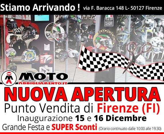 Foto Negozio MotoAbbigliamento Firenze