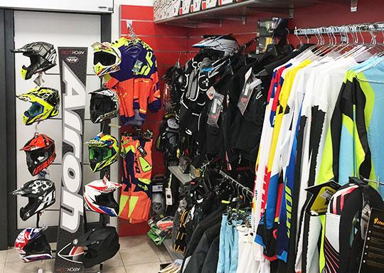 Motoabbigliamento Grosseto negozio