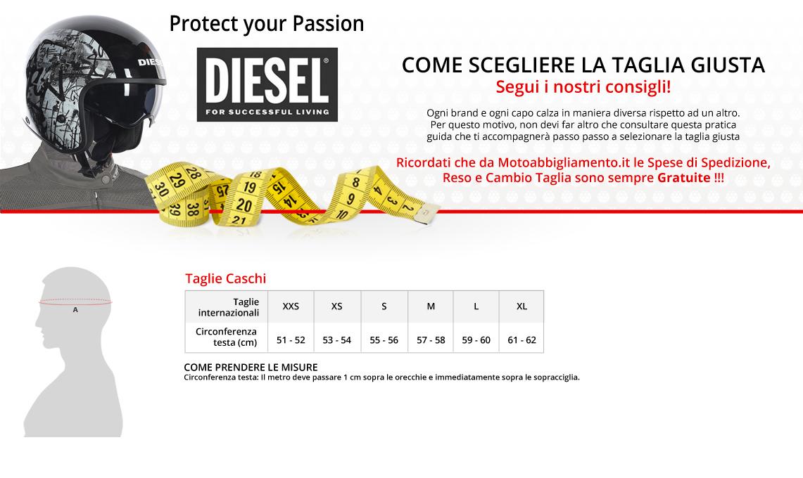 online retailer 98b52 e6ba6 Come scegliere la taglia giusta - Diesel