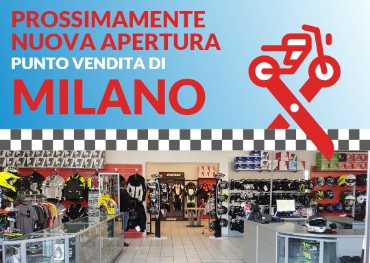 negozio Milano motoabbigliamento