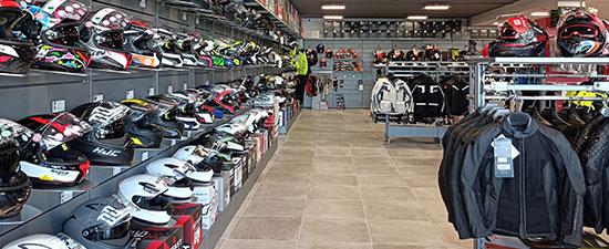 negozio Motoabbigliamento Brescia