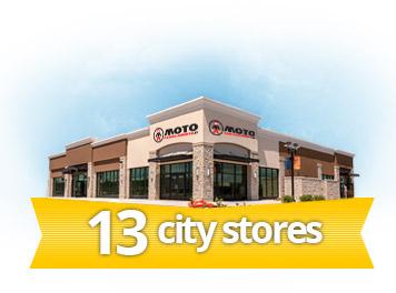 13 stores Motoabbigliamento.it
