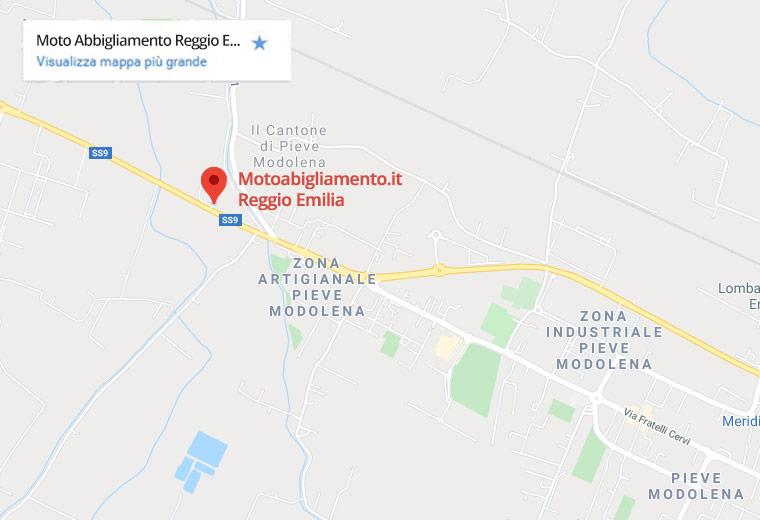 indicazioni motoabbigliamento Reggio Emilia
