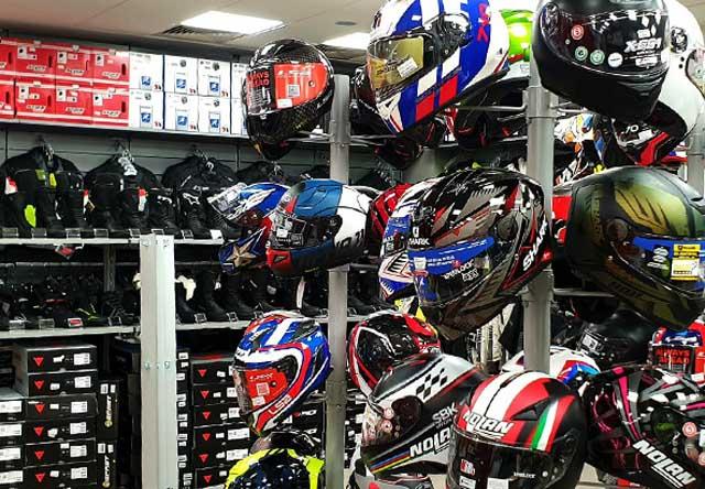 negozio Motoabbigliamento Torino